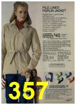 1980 Sears Fall Winter Catalog, Page 357