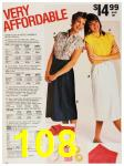 1987 Sears Spring Summer Catalog, Page 108
