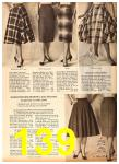 1958 Sears Fall Winter Catalog, Page 139