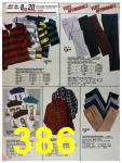 1986 Sears Fall Winter Catalog, Page 386