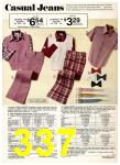 1974 Sears Spring Summer Catalog, Page 337