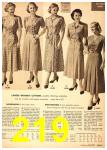 1949 Sears Spring Summer Catalog, Page 219