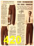 1940 Sears Fall Winter Catalog, Page 420