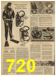 1962 Sears Spring Summer Catalog, Page 720