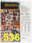 1987 Sears Fall Winter Catalog, Page 536