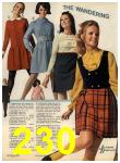 1968 Sears Fall Winter Catalog, Page 230