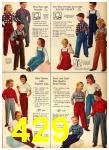 1958 Sears Fall Winter Catalog, Page 429