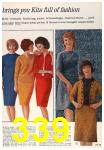 1963 Sears Fall Winter Catalog, Page 339