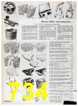 1967 Sears Spring Summer Catalog, Page 734