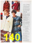 1967 Sears Fall Winter Catalog, Page 140