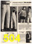 1975 Sears Spring Summer Catalog, Page 504