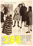 1960 Sears Fall Winter Catalog, Page 388