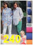 1991 Sears Spring Summer Catalog, Page 240