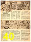 1949 Sears Spring Summer Catalog, Page 40