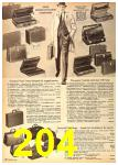 1962 Sears Fall Winter Catalog, Page 204