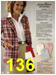 1981 Sears Spring Summer Catalog, Page 136
