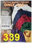 1991 Sears Fall Winter Catalog, Page 339