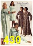 1971 Sears Fall Winter Catalog, Page 430