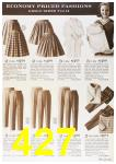 1964 Sears Fall Winter Catalog, Page 427