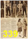 1958 Sears Spring Summer Catalog, Page 339