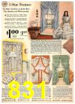 1940 Sears Fall Winter Catalog, Page 831