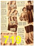 1940 Sears Fall Winter Catalog, Page 719