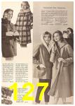 1960 Sears Fall Winter Catalog, Page 127