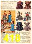 1958 Sears Fall Winter Catalog, Page 418