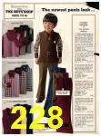 1973 Sears Fall Winter Catalog, Page 228