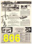 1971 Sears Fall Winter Catalog, Page 806
