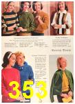 1960 Sears Fall Winter Catalog, Page 353