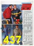 1986 Sears Spring Summer Catalog, Page 437