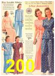 1940 Sears Fall Winter Catalog, Page 200