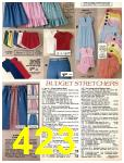 1981 Sears Spring Summer Catalog, Page 423