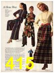 1971 Sears Fall Winter Catalog, Page 415