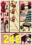 1975 Sears Fall Winter Catalog, Page 242
