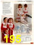 1985 Sears Christmas Book, Page 195