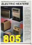 1986 Sears Fall Winter Catalog, Page 805