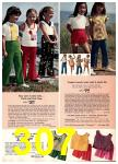1974 Sears Spring Summer Catalog, Page 307
