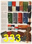 1962 Sears Fall Winter Catalog, Page 333