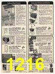 1978 Sears Fall Winter Catalog, Page 1216