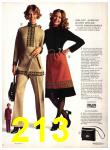 1971 Sears Fall Winter Catalog, Page 213