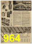 1962 Sears Spring Summer Catalog, Page 964