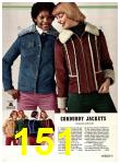 1974 Sears Fall Winter Catalog, Page 151