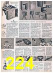 1957 Sears Spring Summer Catalog, Page 224