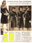 1940 Sears Fall Winter Catalog, Page 20