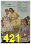 1961 Sears Spring Summer Catalog, Page 421