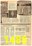 1962 Sears Fall Winter Catalog, Page 1489
