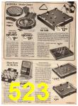 1973 Sears Christmas Book, Page 523