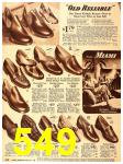 1940 Sears Fall Winter Catalog, Page 549